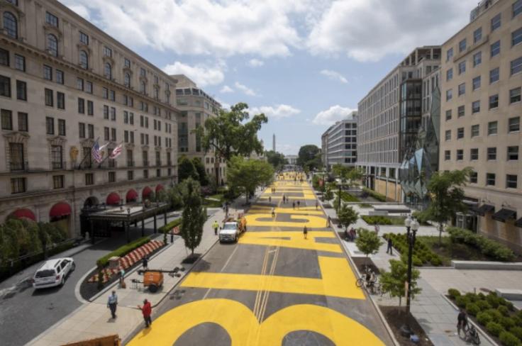 D.C. Mayor Muriel Bowser turns Pennsylvania Avenue into Black Lives Matter plaza.